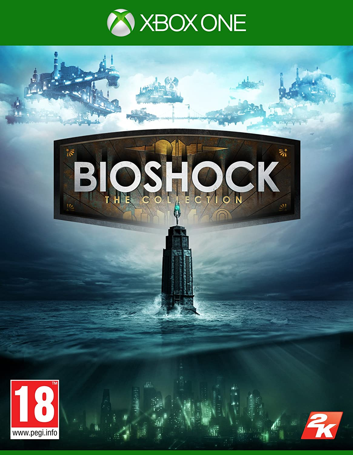2K Bioshock: The Collection, Xbox One Básica + DLC Xbox One vídeo - Juego (Xbox One, Xbox One, Shooter, M (Maduro)): Amazon.es: Videojuegos