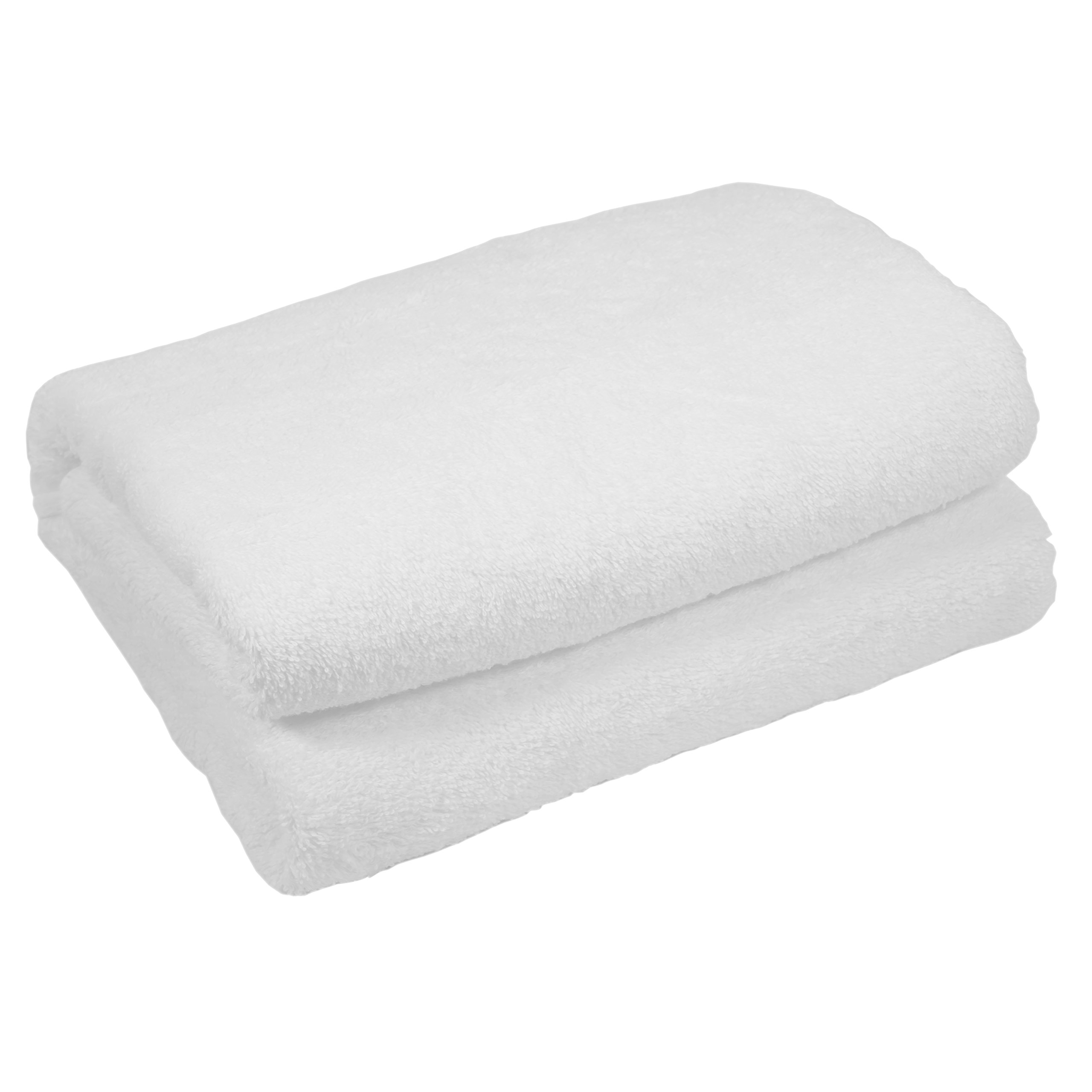 Home & Lounge Bath Towel Sheets - Extra Large 100% Turkish Cotton Spa and Hotel Towel - 35 Inch by 60 Inch - Luxury Soft and Comfortable Sheet - Machine Washable (White)