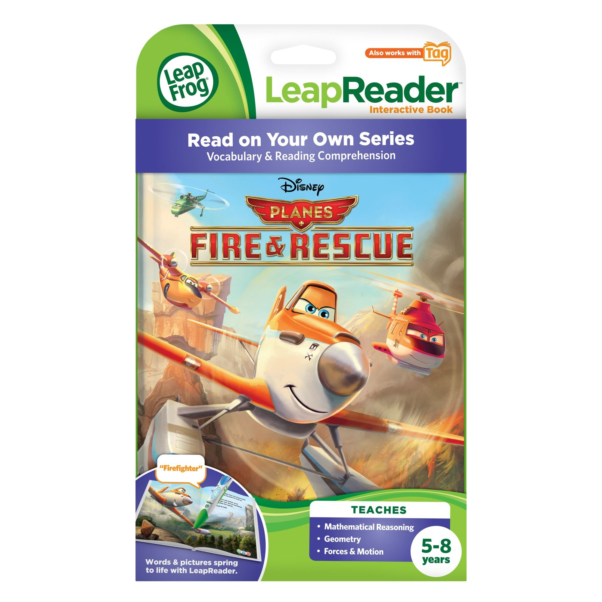LeapFrog LeapReader Book: Disney Planes Fire and Rescue by LeapFrog (Image #4)