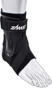 Zamst A2-DX Strong Ankle Brace- Active Ankle Stabilizer Brace with Three-Way Support, Ankle Sprain Support for Men and Women, Sports Brace for Basketball, Soccer, Volleyball, Football & Baseball