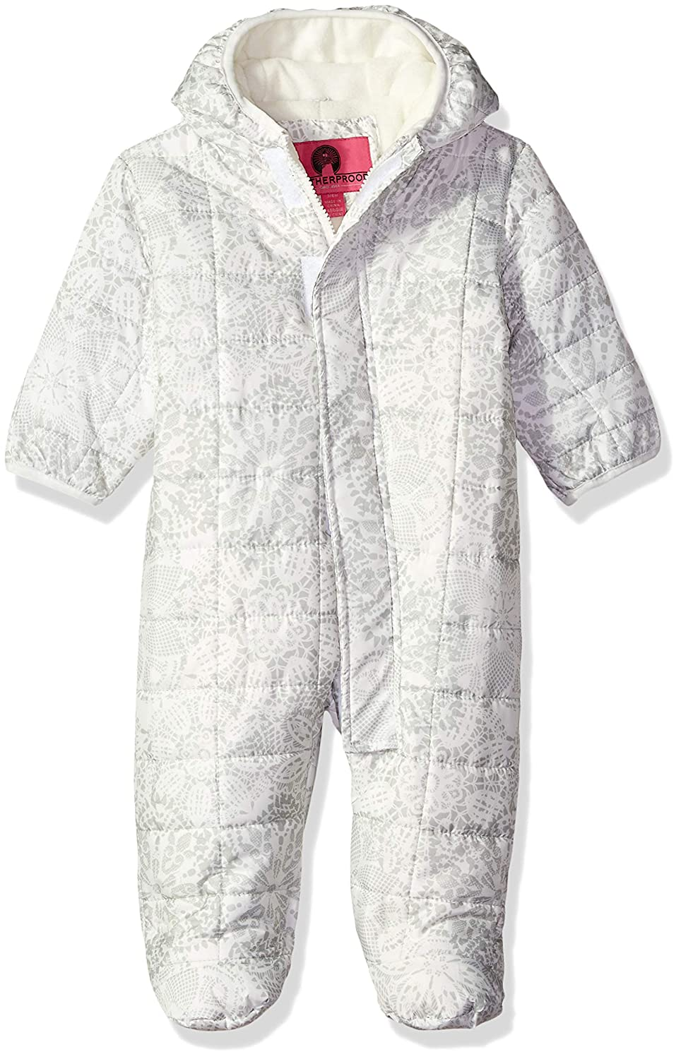 Weather Proof Baby Girls Quilted Pram