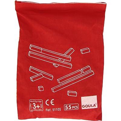 Goula- Counting Rods + Bag Regletas en Bolsa, Juego Educativo, Multicolor (51105)
