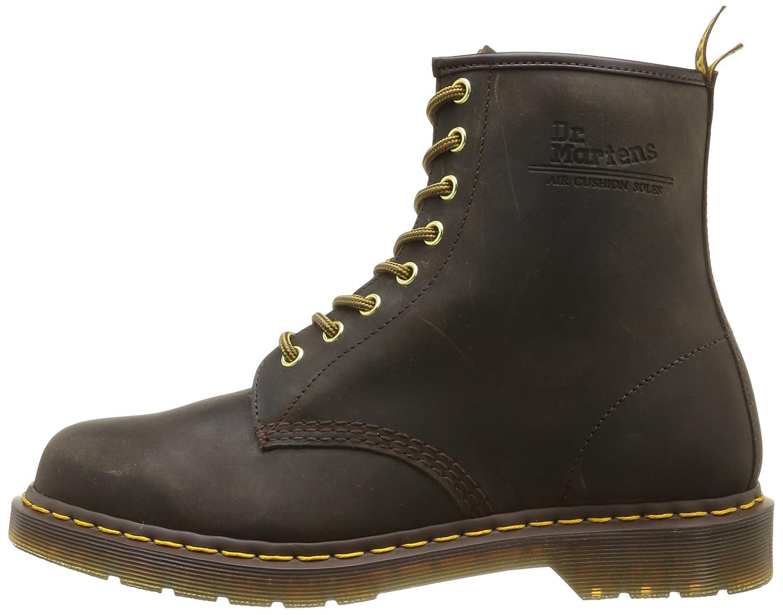 Dr. Martens Men's 1460 Combat Boot, 8.5 B(M) US Women/7.5 D(M) US Men B07CPM4TK9 11 M US|Brown