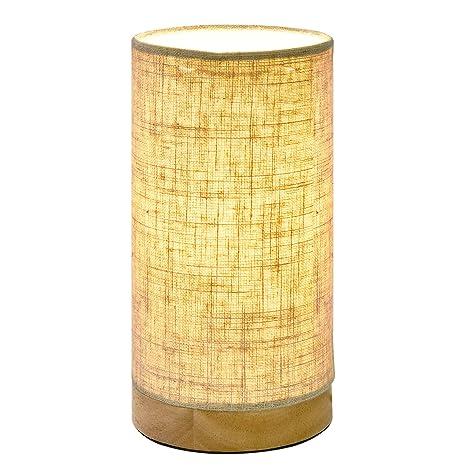 Viugreum Base de Lámparas Lámpara de mesa, Lámpara de escritorio para Estudio, Dormitorio, Salón, mesilla de noche-Blanco