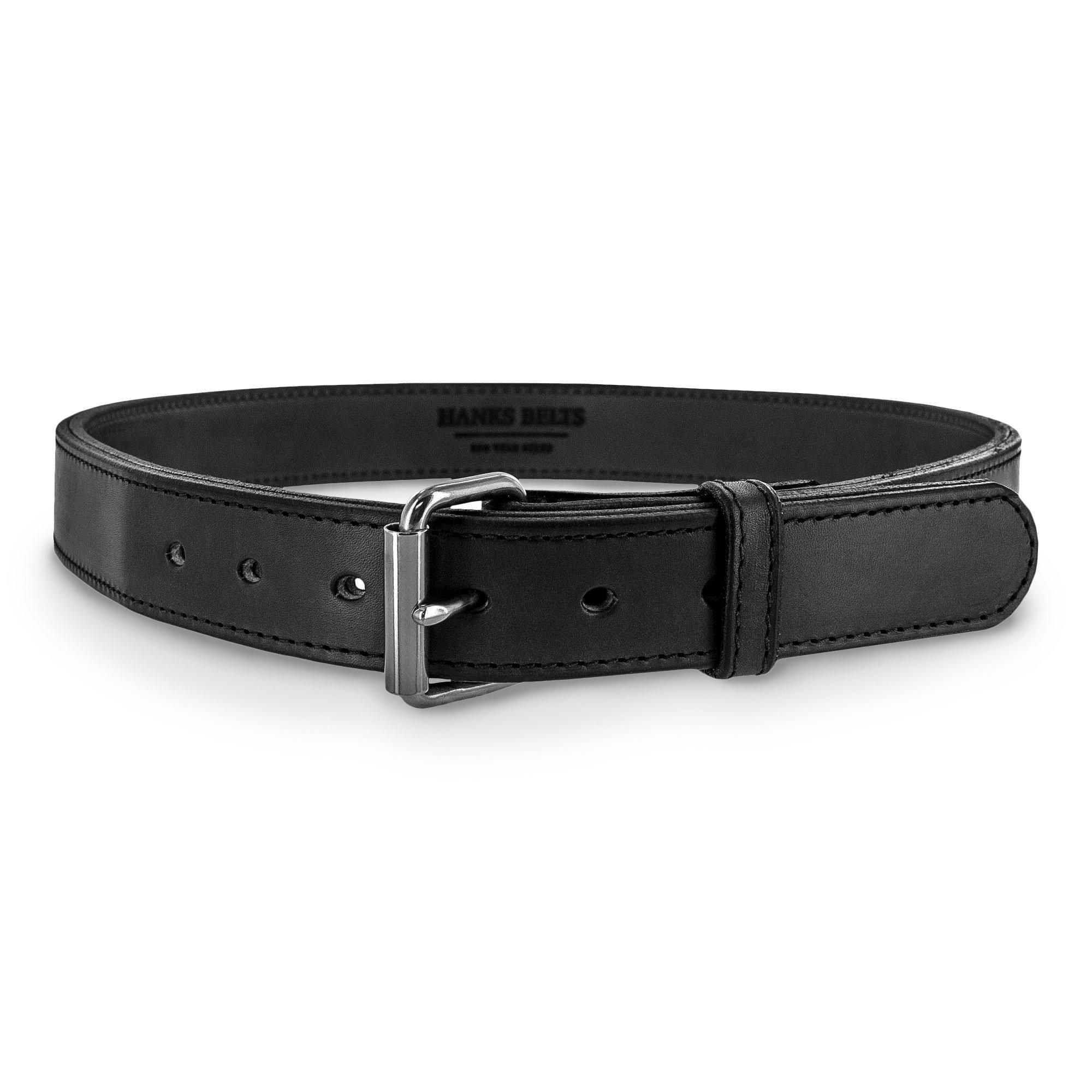 Hanks ACH104 Steel Core Belt - 1.5'' - Black - Size 52 by Hanks Belts