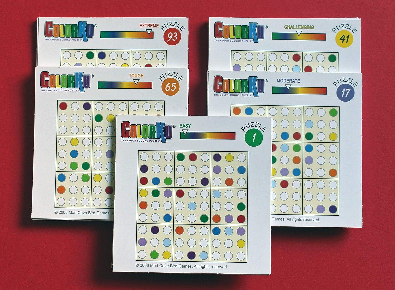 Mañana Grupo SAS mor40148 ColorKu, Juego de Tablero: Amazon.es: Juguetes y juegos