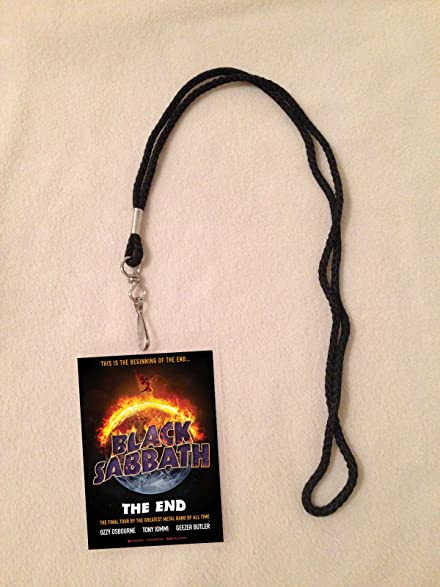 Amazon black sabbath 2016 the end tour vip all access black sabbath 2016 the end tour vip all access backstage meet greet package pass with m4hsunfo