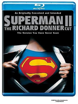 Superman II: The Richard Donner Cut [Blu-ray] [English-Dolby Digital 5.1]