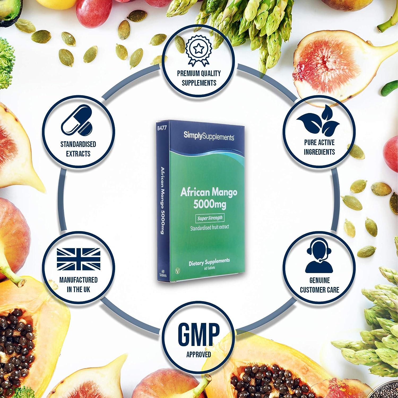 Amazon.com: Mango Africano 5000 mg | Super Alimento para ...