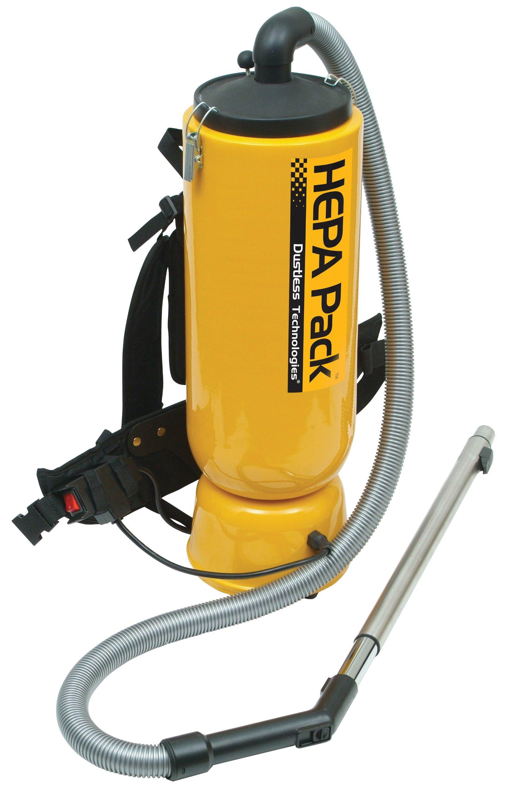 HEPA Back Pack Vacuum by Dustless Technologies