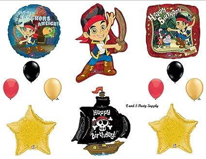 Amazon Com Jake The Neverland Pirates Ship Birthday Party