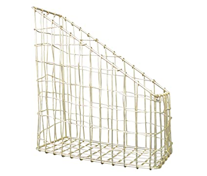 Amazon.com : Candlelight 570119 Wire File Holder - Wavy Gold ...
