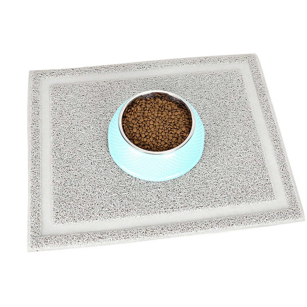 UHeng Pet Cat Dog Litter Mat Durable Rectangular Trapping Rugs 20'' X 16''