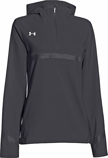 Under Armour Womens Pregame Woven 14 Zip Jacket At Amazon Womens