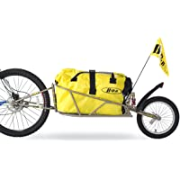 "Bob Ibex Bike Trailer With Bag And Quick Release Clamp - For 28"" Wheel, Gold"