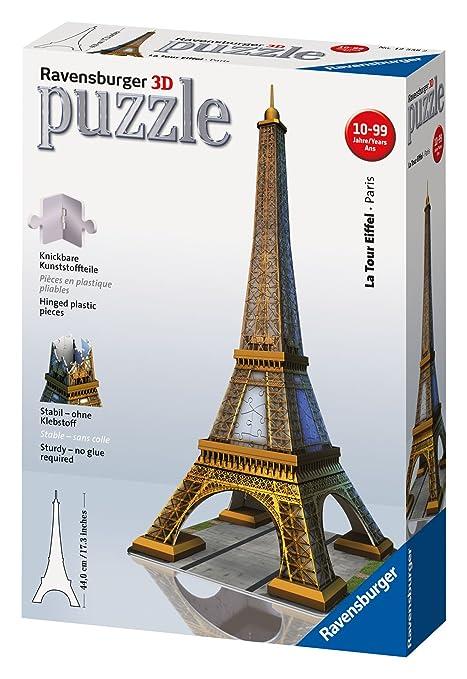 203 opinioni per Ravensburger 12556- Tour Eiffel- Puzzle 3D Building