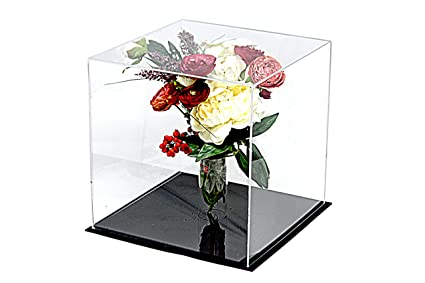 Amazon.com : Deluxe Clear Acrylic Collectible Wedding Flower Bouquet ...