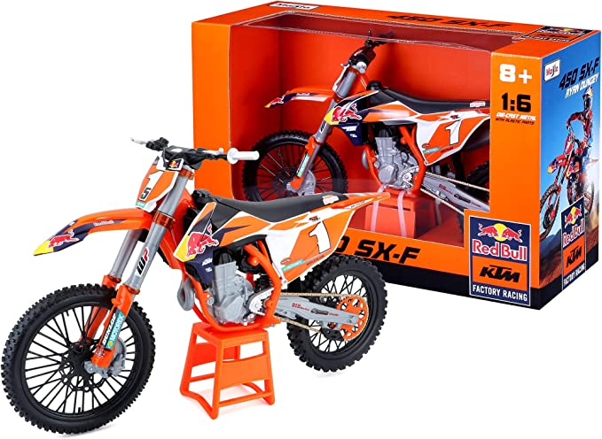 Maisto 1 6 Ktm Supercross Red Bull Spielzeug