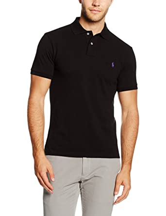 cdc55c2c538d POLO RALPH LAUREN Men s Ss Kc Slim Fit Polo Ppc Shirt  Ralph Lauren ...