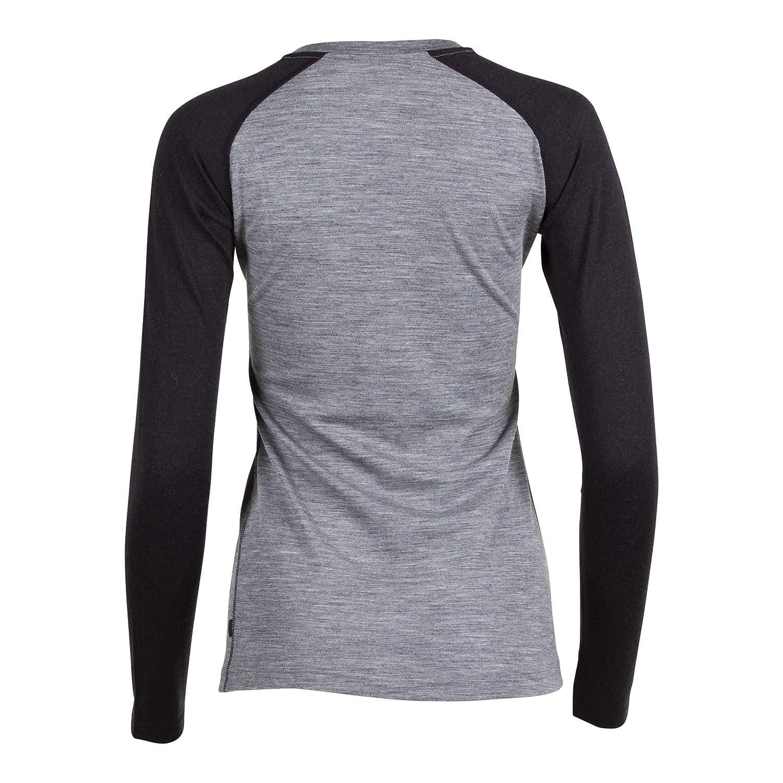 Womens Aspect Midweight Merino Wool Long Sleeve Shirt