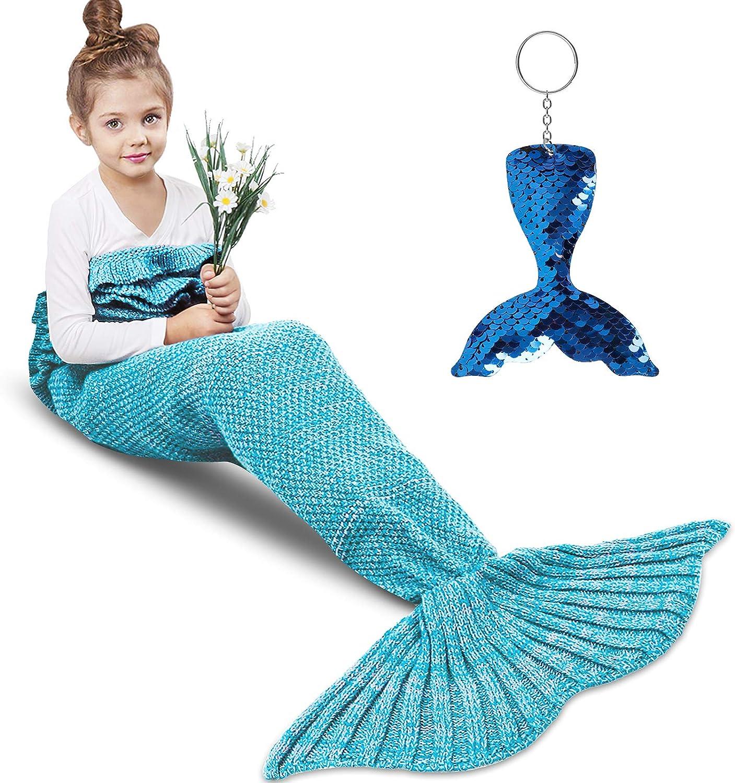 Mermaids Tail Adult Child Sofa Blanket Mermaid Ceiling