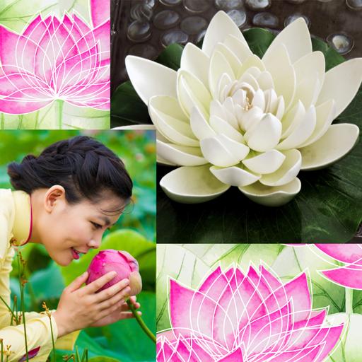 Lotus Collage Photo Editor