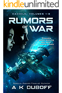 Rumors of War (Cadicle Vol. 1-3): An Epic Space Opera