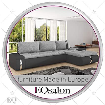Miraculous Amazon Com Modern Stylish Sectional Sofa Couch With Sleeper Unemploymentrelief Wooden Chair Designs For Living Room Unemploymentrelieforg