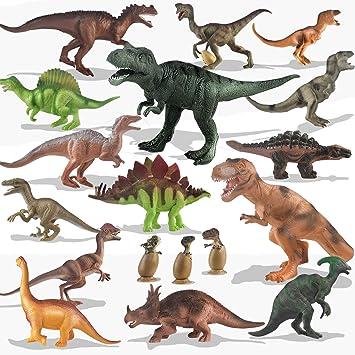 Realistische Tier Actionfiguren Dinosaurier für Kinder Lernspielzeug Geschenk