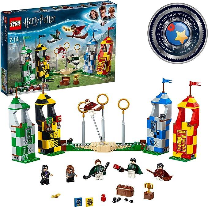LEGO Harry Potter - Partido de Quidditch, Set de Construcción de ...