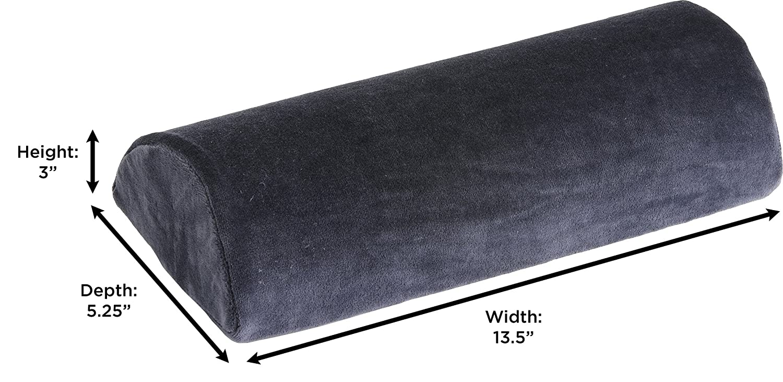 NOVA Medical Products Half Roll Memory Foam Pillow 2678-R