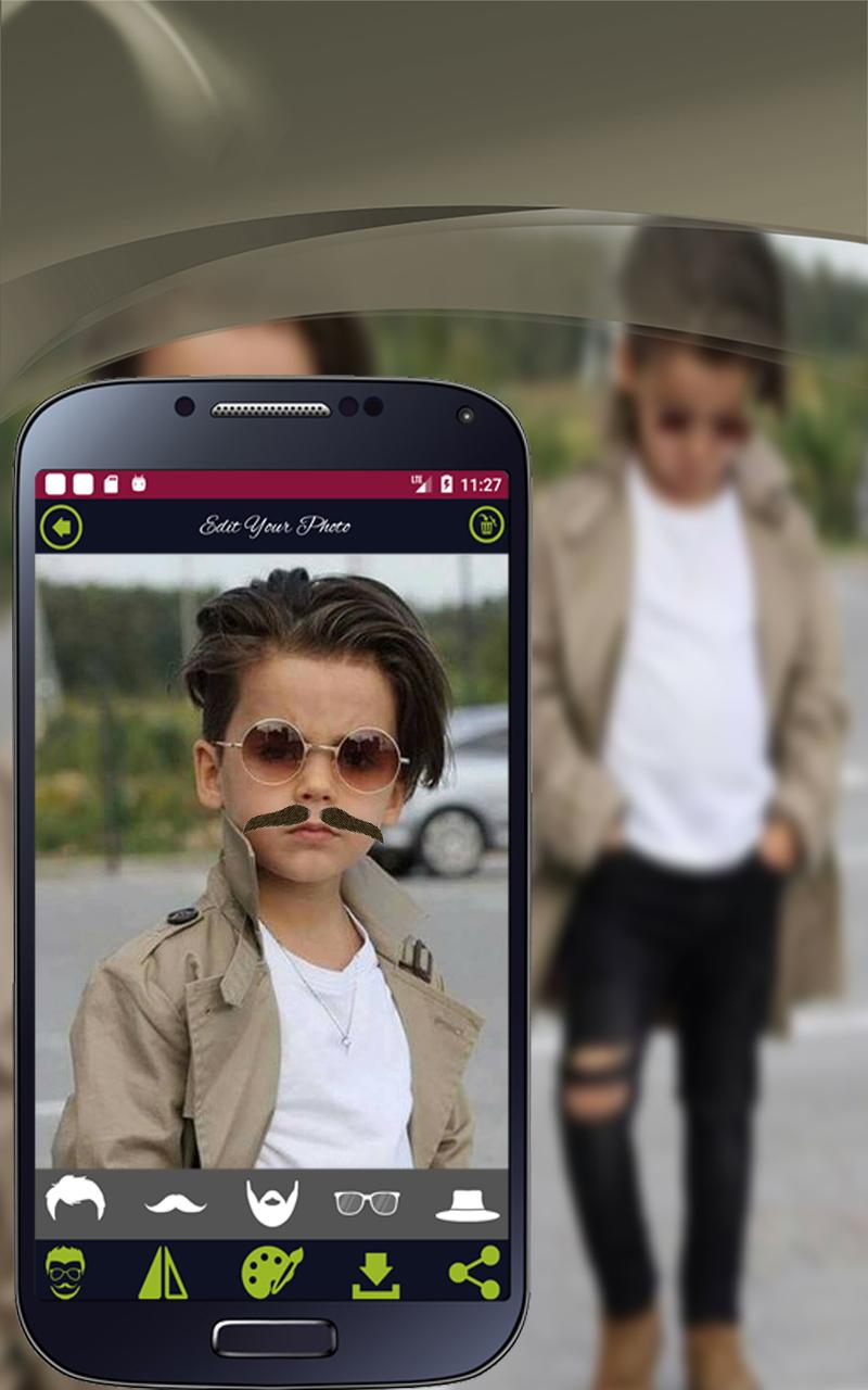 Amazon Daddy Beard Mustache Style Pro Boy Photo Editor