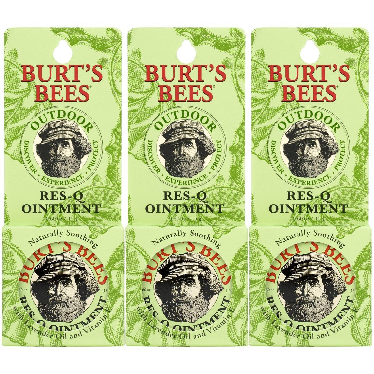 Burt 's Bees Doctor Burt' s RES de Q de Ointment 18ml Ointment (3-Pack) (Lociones) Burt' s Bees 77699-20