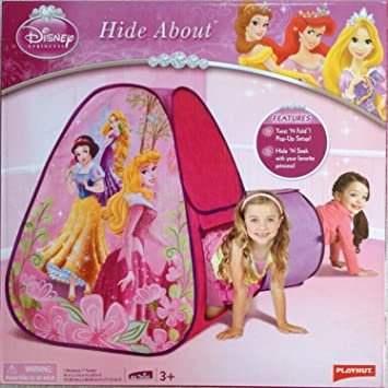 Disney Princess Hide About Play Tent and Tunnel by Playhut  sc 1 st  Amazon.com & Amazon.com: Disney Princess Hide About Play Tent and Tunnel by ...