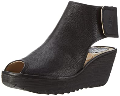 c5f215dc974 FLY London Women s Yone642fly Ankle Bootie Black Mousse 36 EU 5.5-6 ...