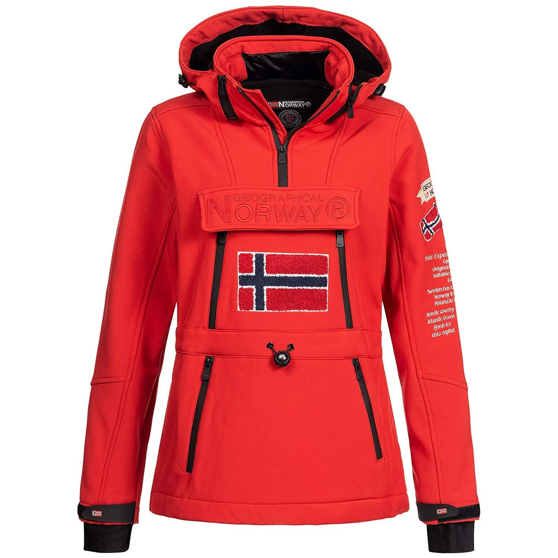 Fonctions Ext/érieur Pluie Veste Sport Geographical Norway Femme Softshell Veste Ski Snowboard Veste pour lhiver//Automne dans Empaqueter avec UD Bonnet