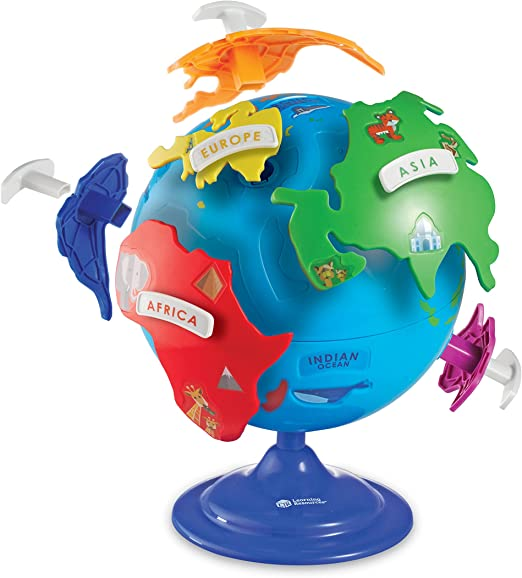 LEARNING RESOURCES PUZZLE GLOBE 7735