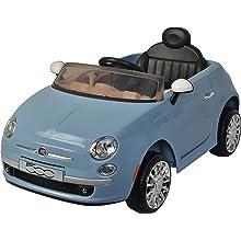 Best Ride On Cars Fiat 500 12V- Blue