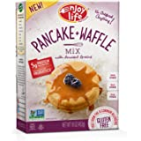 Enjoy Life Baking Mixes, Soy-free, Nut-free, Gluten-free, Dairy-free, Non-GMO, Vegan, Pancake + Waffle Mix, 16 Ounce Box