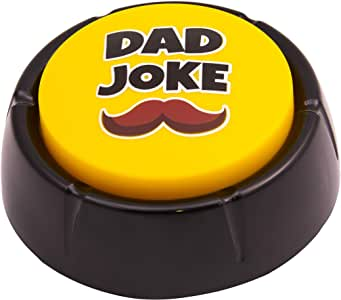 Dad Joke Button | A  Fathers with 50+ Funny Dad Jokes | Novelty Talking Button Present
