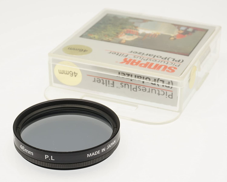 Sunpak Black 46mm Polarizing Filter Made in Japan