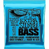 Cuerdas para bajo eléctrico Ernie Ball Extra Slinky