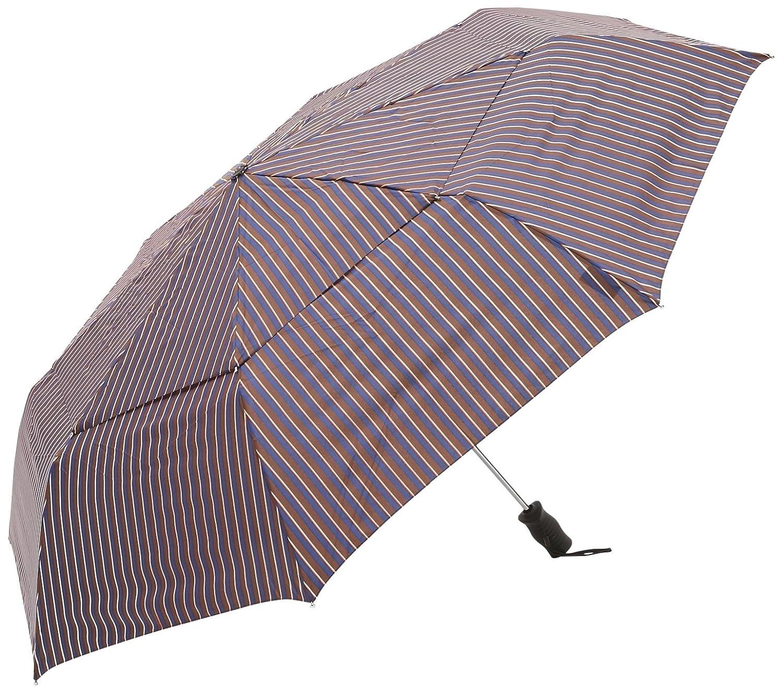 トーツ (totes)自動開閉 折り畳み傘 Vented Canopy 三つ折り69cm W82(ブラウンボーダー) B01BHU72DO ベンガルストライプ ベンガルストライプ