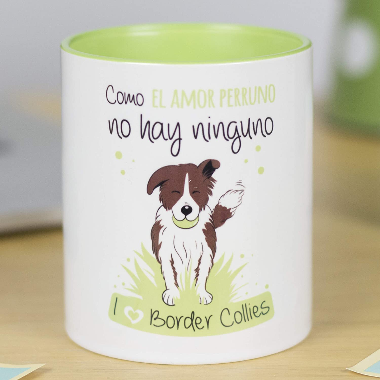 taza original de perro