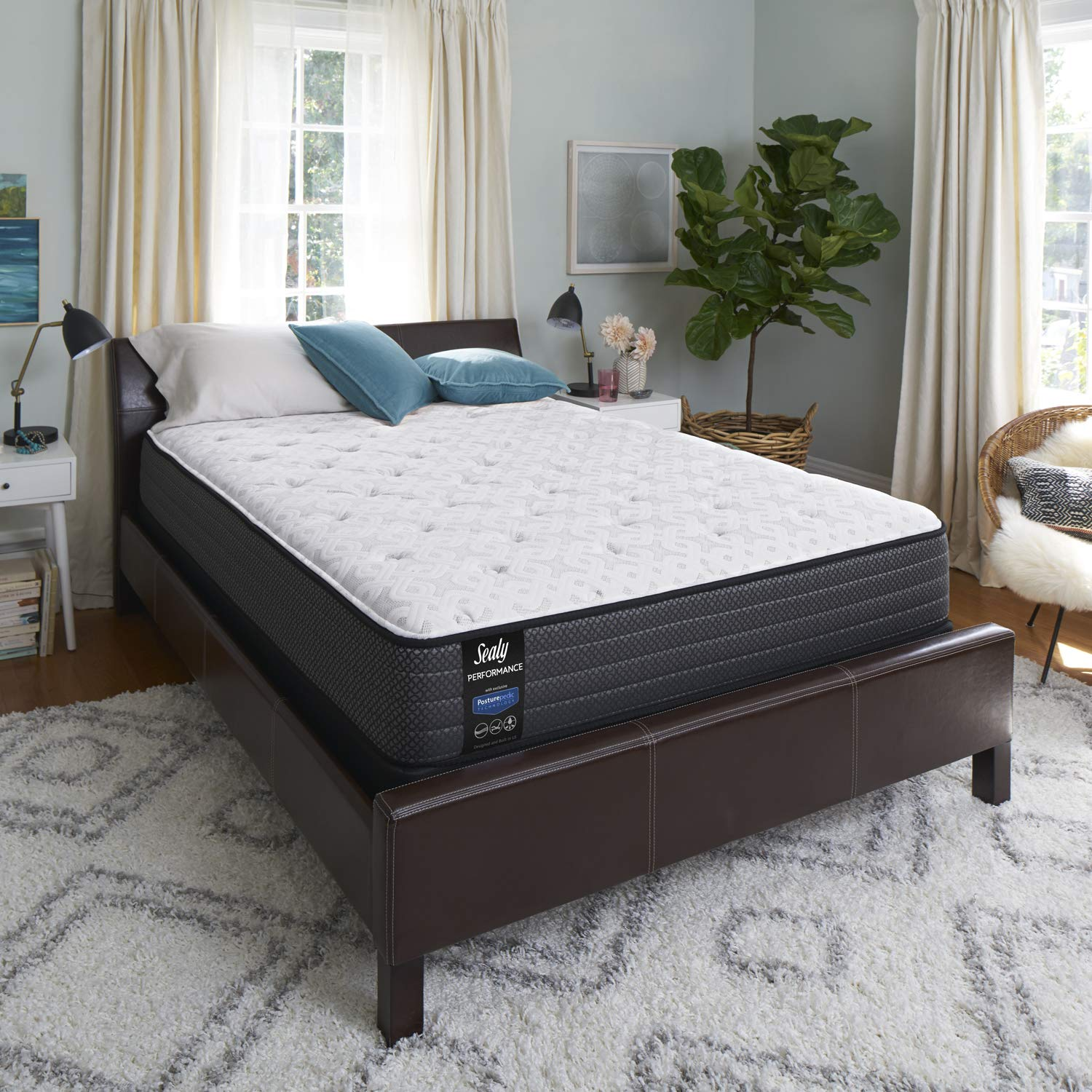 save off 0d26b 52ed8 Sealy Response Performance 11.5-Inch Plush Tight Top Mattress, Twin, Made  in USA, 10 Year Warranty