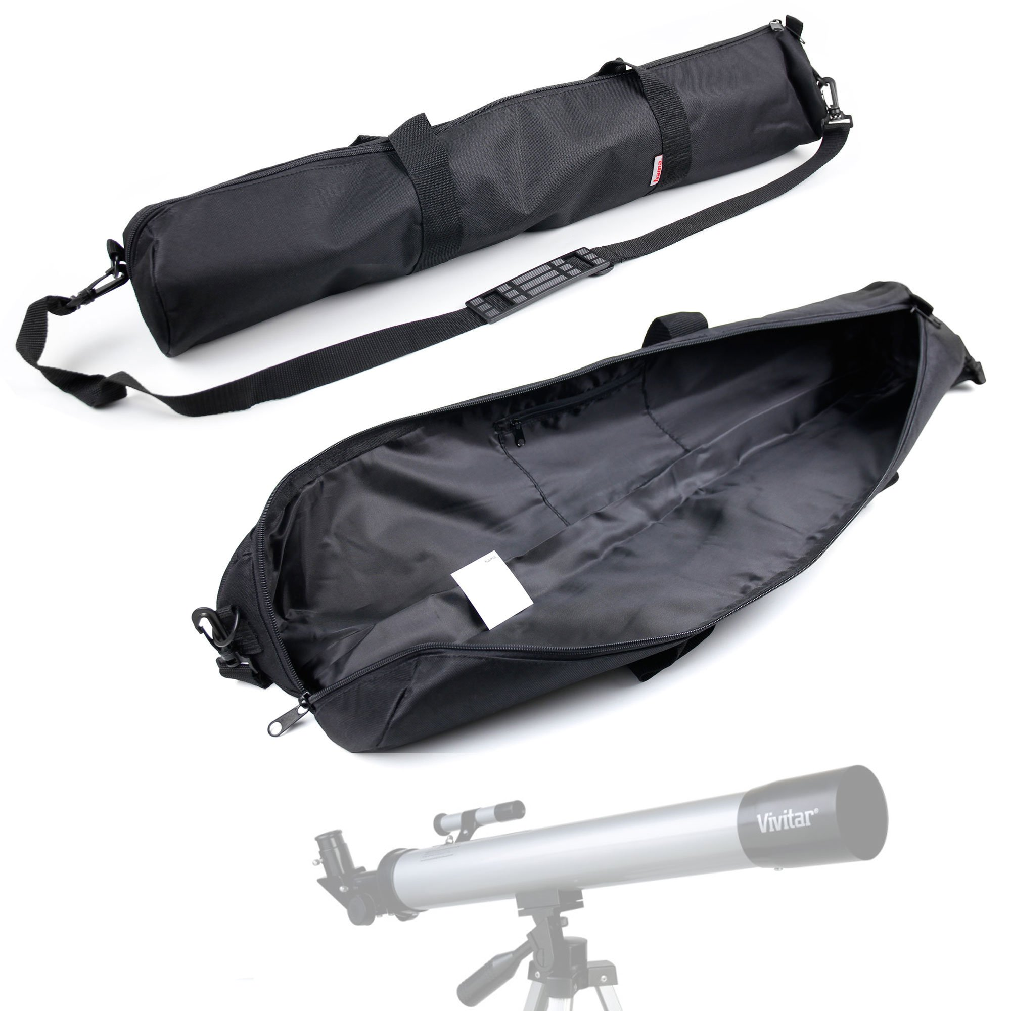 DURAGADGET Premium Quality Water-Resistant Telescope Carry Bag/Cover for Vivitar TEL50600 60X/120X Telescope Refractor - with Removable & Adjustable Shoulder Strap and Separate Carry Handles by DURAGADGET