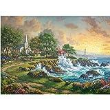 Gibsons Thomas Kinkade Seaside Haven Jigsaw Puzzle, 1000 piece