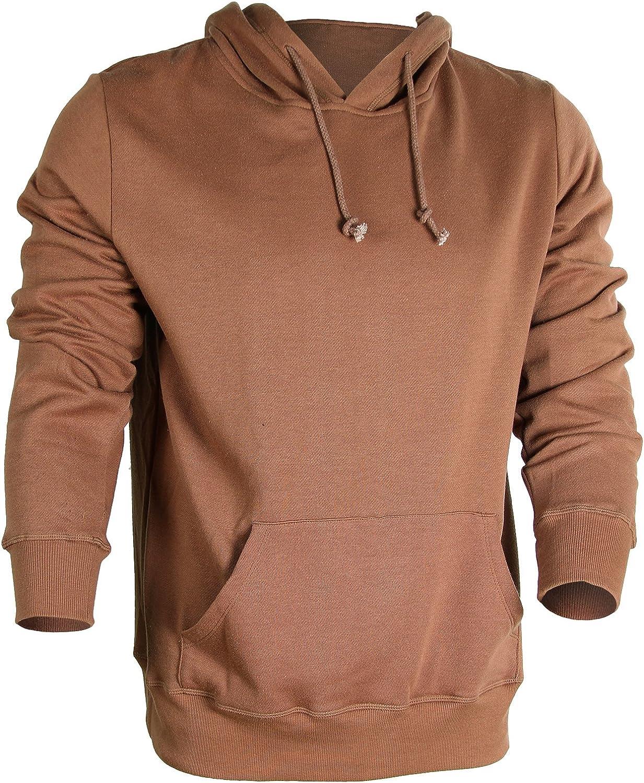 Godsen Mens Hoodie Sweatshirt Pullover Fleece Outerwear