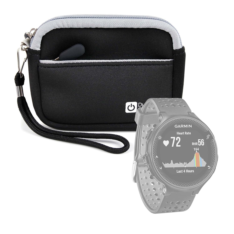 DURAGADGET Estuche De Neopreno Negro para Smartwatch Garmin ...