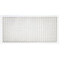 Sipa 5/577 Panel perforado de chapa barnizada, 1000 x 500 mm, color marfil.